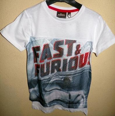 Tee-shirt fast and furious hello disney