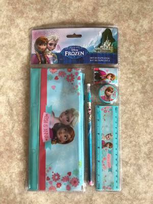 Set papeterie la reine des neiges hello disney