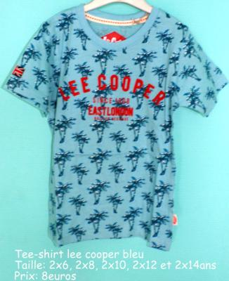 Tee-shirt lee cooper hello disney