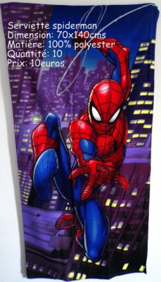 Serviette spiderman hello disney